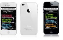 30 leçons de stratégie, un application iPhone de stratégie en vidéo