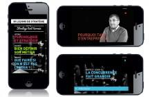 30 leçons de stratégie en vidéo. 30 vidéos pour tout comprendre de la stratégie. Sur iPhone