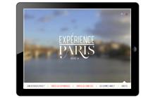 EXPERIENCE PARIS sur iPad, le city guide nouvelle génération
