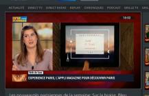 Experience Paris sur BFM TV : «du jamais vu !»